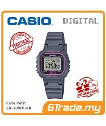 CASIO Kids Ladies LA-20WH-8AV Digital Watch |Small Cute Petit