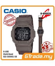 CASIO G-SHOCK GLS-5600CL-5D Men Digital Watch | G-Lide Cloth Band