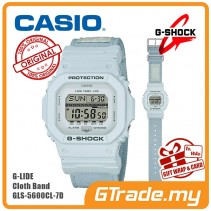 CASIO G-SHOCK GLS-5600CL-7D Men Digital Watch | G-Lide Cloth Band