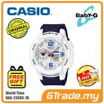 CASIO BABY-G BGA-230SC-7B Ladies Women Digital Watch | World Traveling
