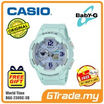 CASIO BABY-G BGA-230SC-3B Ladies Women Digital Watch | World Traveling