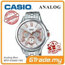 CASIO MULTI-HANDS MTP-E308D-7AV Mens Watch | Big Day Date Indicator