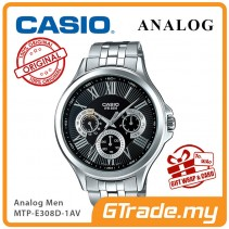 CASIO MULTI-HANDS MTP-E308D-1AV Mens Watch | Big Day Date Indicator