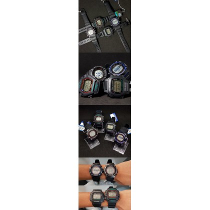 [READY STOCK] CASIO DW-290-1V MISSION IMPOSSIBLE Watch 200M Water Resist Ethan Hunt
