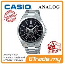 CASIO MEN MTP-SW300D-1AV Analog Watch | Sweep Second Hand