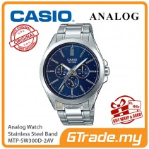 CASIO MEN MTP-SW300D-2AV Analog Watch | Sweep Second Hand