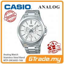 CASIO MEN MTP-SW300D-7AV Analog Watch | Sweep Second Hand