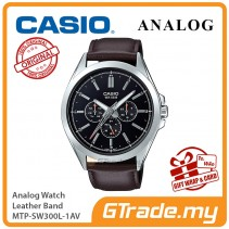 CASIO MEN MTP-SW300L-1AV Analog Watch | Sweep Second Hand