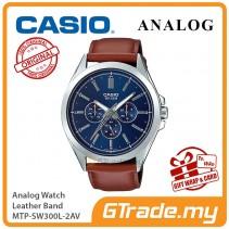 CASIO MEN MTP-SW300L-2AV Analog Watch | Sweep Second Hand