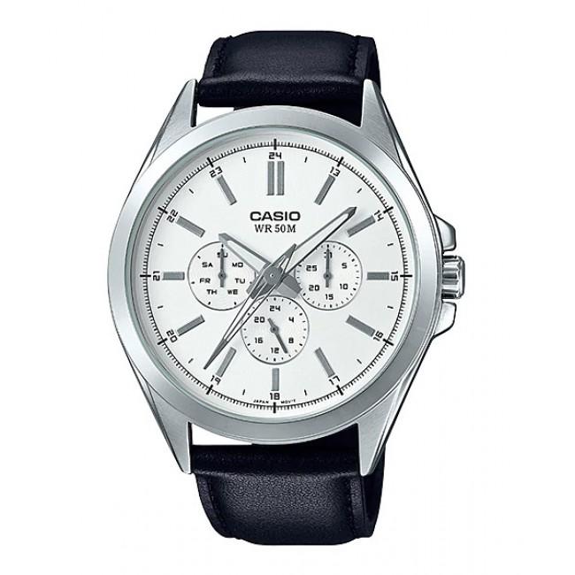 Casio Men Mtp Sw300l 7av Analog Watch Sweep Second Hand