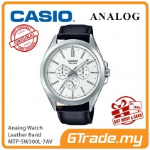 CASIO MEN MTP-SW300L-7AV Analog Watch | Sweep Second Hand.
