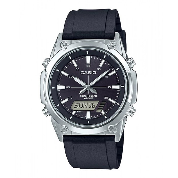 Casio Men Amw S820 1a Analog Digital Watch Tough Solar Pre