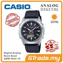 CASIO MEN AMW-S820-1A Analog Digital Watch | Tough Solar