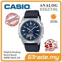 CASIO MEN AMW-S820-2A Analog Digital Watch | Tough Solar
