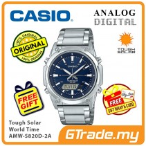 CASIO Men AMW-S820D-2A Analog Digital Watch Tough Solar [PRE]
