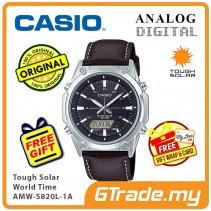 CASIO Men AMW-S820L-1A Analog Digital Watch Tough Solar [PRE]