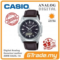 CASIO MEN AMW-S820L-1A Analog Digital Watch | Tough Solar