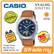 CASIO Men AMW-S820L-2A Analog Digital Watch Tough Solar [PRE]