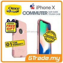 OTTERBOX Commuter Dual Layer Tough Case Apple Iphone X Ballet *Free Gift