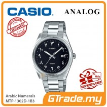 CASIO MEN MTP-1302D-1B3 Analog Watch | Arabic Numerals