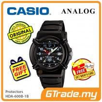 CASIO WIRE PROTECTOR HDA-600B-1B Analog Mens Watch | Date Display