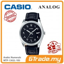 CASIO MEN MTP-1302L-1B3 Analog Watch | Arabic Numerals