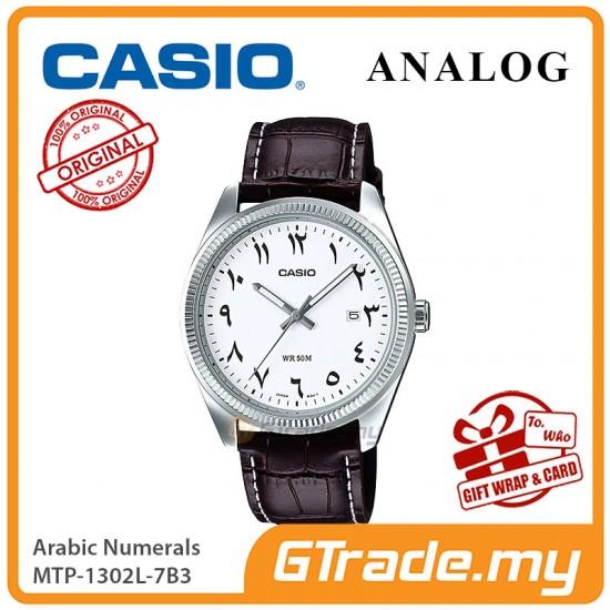 [READY STOCK] CASIO MEN MTP-1302L-7B3 Analog Watch | Arabic Numerals