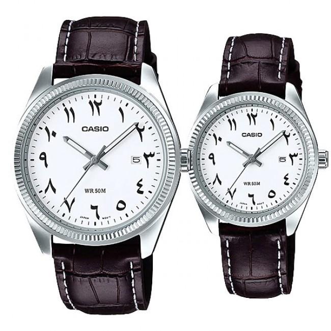 [READY STOCK] CASIO MTP-1302L-7B3 & LTP-1302L-7B3 Couple Watch | Arabic Numerals