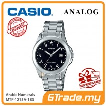 CASIO MEN MTP-1215A-1B3 Analog Watch | Arabic Numerals