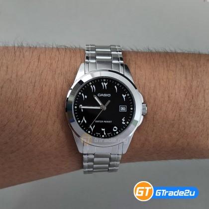 [READY STOCK] CASIO MEN MTP-1215A-1B3 Analog Watch | Arabic Numerals