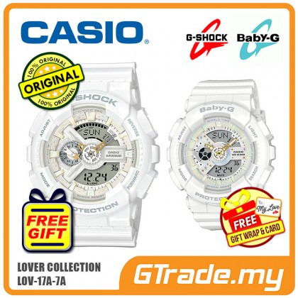 CASIO G-SHOCK BABY-G LOV-17A-7A Couple Watch | Lover Limited Edition