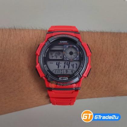 [READY STOCK] CASIO STANDARD AE-1000W-4AV Digital Watch | 10 Yrs Batt. WR100M