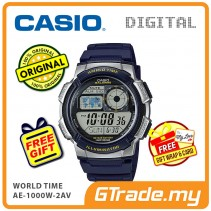 CASIO STANDARD AE-1000W-2AV Digital Watch | 10 Yrs Batt. WR100M
