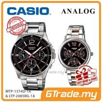 CASIO MTP-1374D-1A & LTP-2085RG-1A Couple Watch | Simple Easy Design