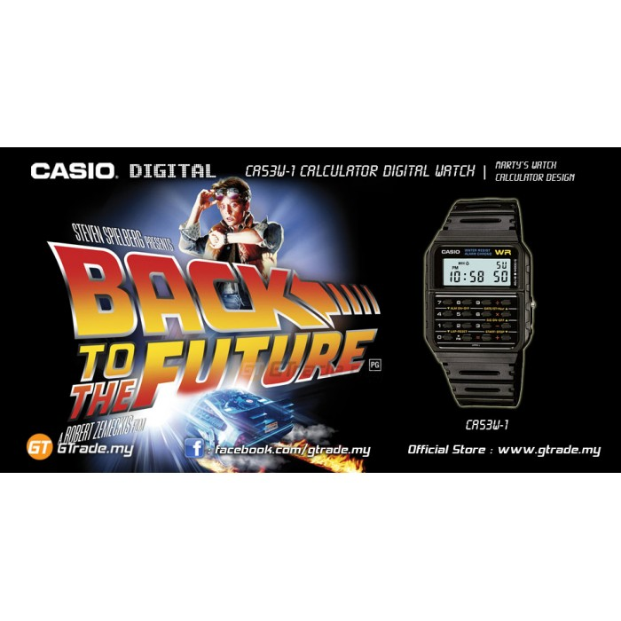 Ready Stock Casio Ca 53w 1 Digital Calculator Watch