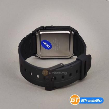 CASIO STANDARD Men CA-53W-1Z Digital Calculator Watch Black Resin Band watch for man . jam tangan lelaki . casio watch for men . casio watch . men watch . watch for men [READY STOCK]