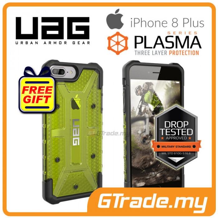 6209410769e UAG Urban Armor Gear Plasma Case Apple iPhone 8 Plus 7 Plus 6s Plus Citron  *Free Gift