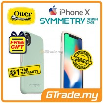 OTTERBOX Symmetry Slim Stylish Case Apple Iphone X Muted Waters *Free Gift