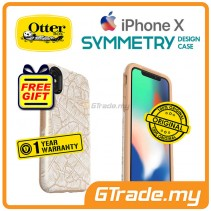 OTTERBOX Symmetry Graphic Slim Stylish Case Apple Iphone X Throwing Shade *Free Gift