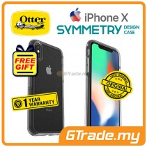 OTTERBOX Symmetry Clear Slim Stylish Case Apple Iphone X Stardust *Free Gift