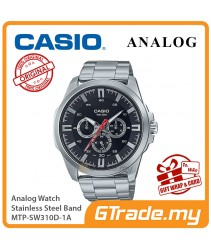 CASIO MEN MTP-SW310D-1A Analog Watch   Sweep Second Hand