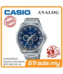 CASIO MEN MTP-SW310D-2A Analog Watch   Sweep Second Hand