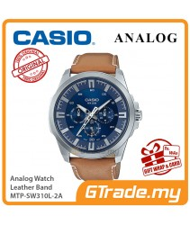 CASIO MEN MTP-SW310L-2A Analog Watch   Sweep Second Hand