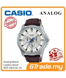 CASIO MEN MTP-SW310L-7A Analog Watch   Sweep Second Hand