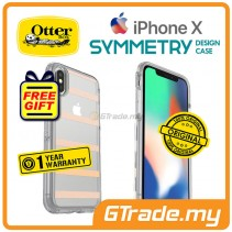 OTTERBOX Symmetry Clear Slim Stylish Case Apple Iphone X Inside The Lines *Free Gift