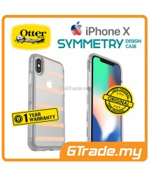 OTTERBOX Symmetry Clear Slim Stylish Case Apple Iphone X Inside The Lines