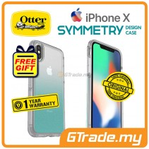 OTTERBOX Symmetry Clear Slim Stylish Case Apple Iphone X Aloha Ombre *Free Gift