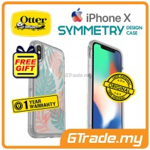 OTTERBOX Symmetry Clear Slim Stylish Case Apple Iphone X Easy Breezy *Free Gift