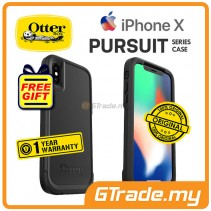 OTTERBOX Pursuit Thin Stylish Tough Case Apple Iphone X Black *Free Gift