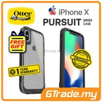 OTTERBOX Pursuit Thin Stylish Tough Case Apple Iphone X Clear *Free Gift